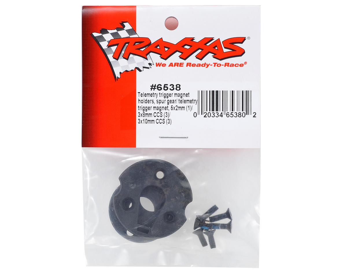 Traxxas Telemetry Trigger Magnet Holder & Spur Gear Magnet