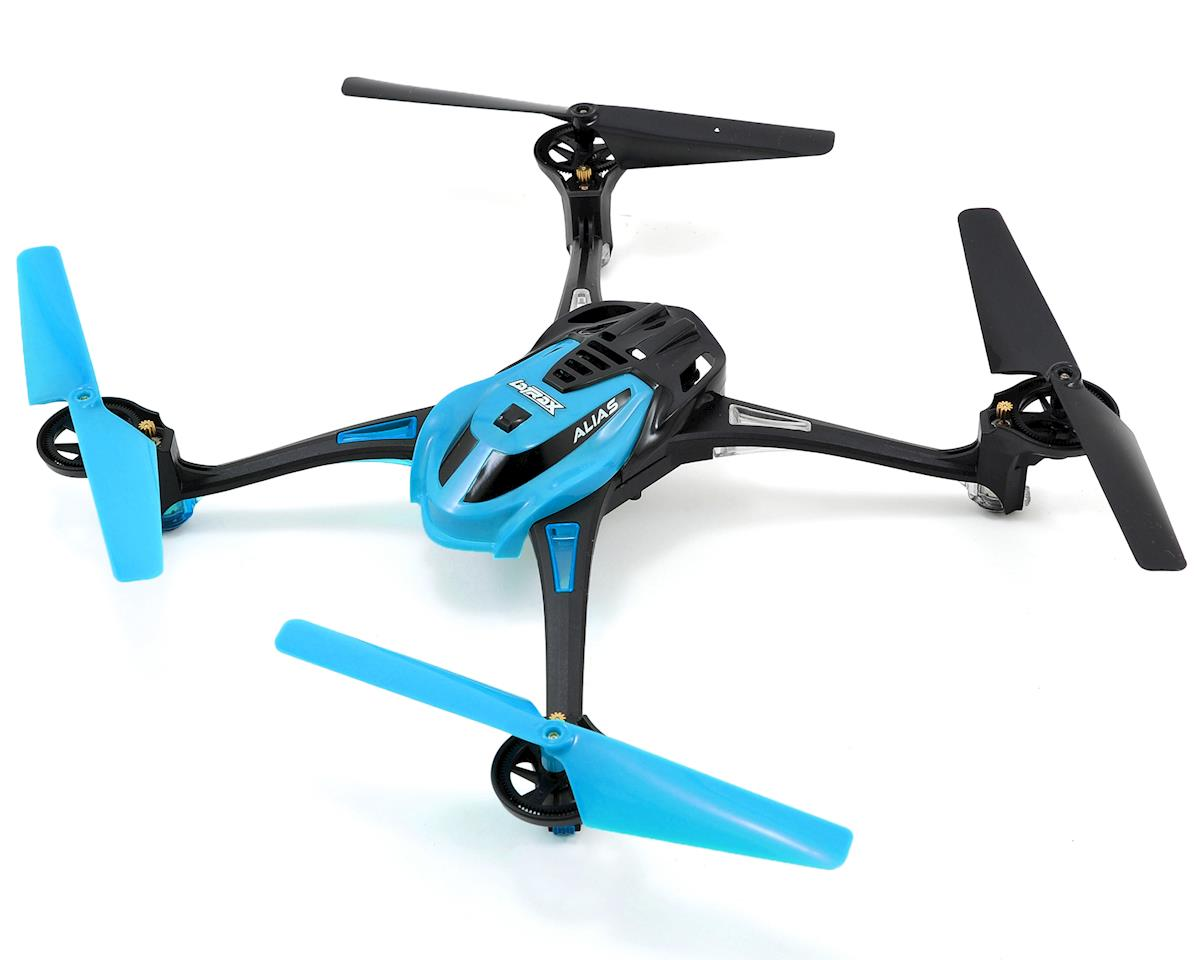Traxxas LaTrax Alias Ready-To-Fly Micro Electric Quadcopter Drone (Blue)