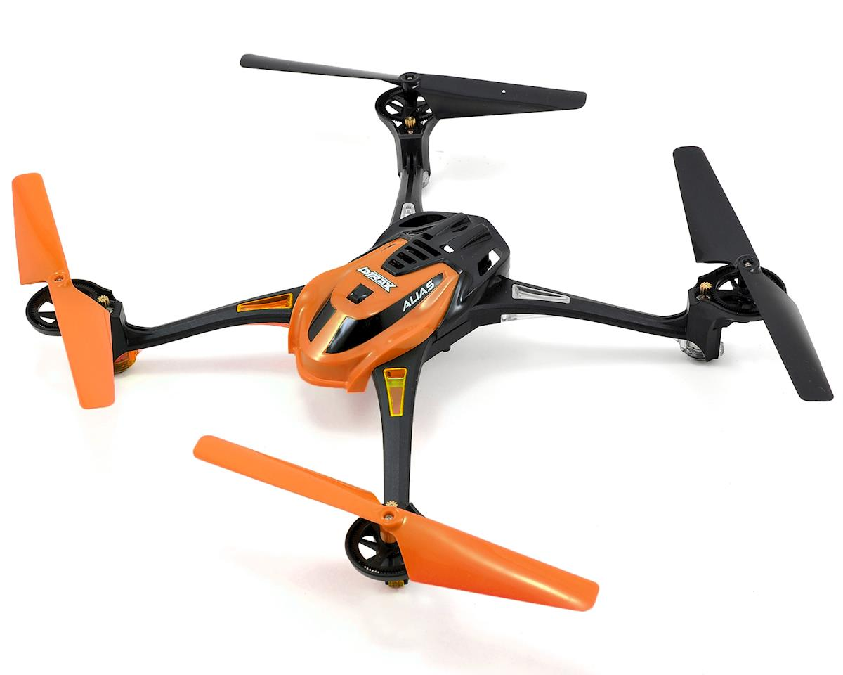 LaTrax Alias Ready-To-Fly Micro Electric Quadcopter Drone (Orange)
