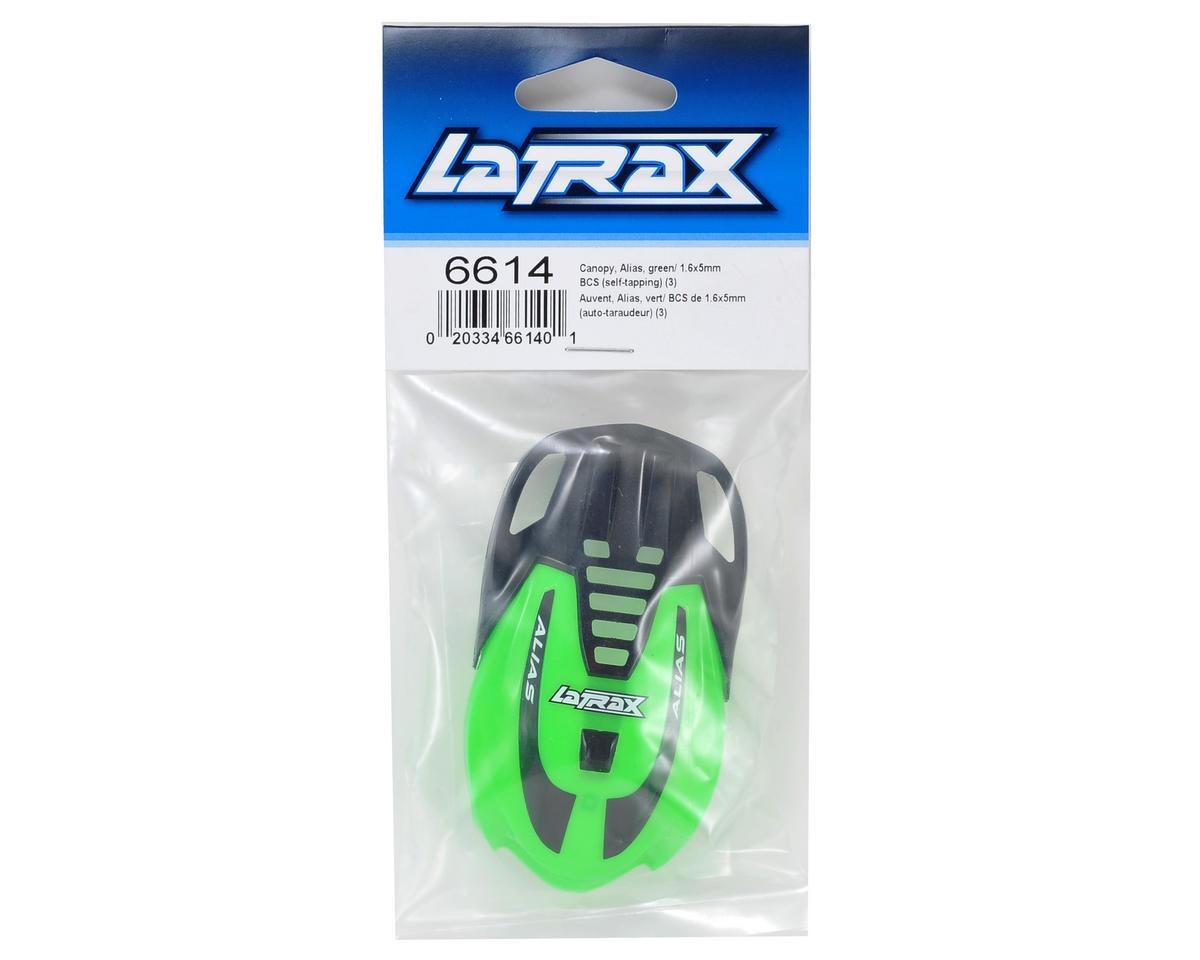 LaTrax Alias Canopy (Green) by Traxxas