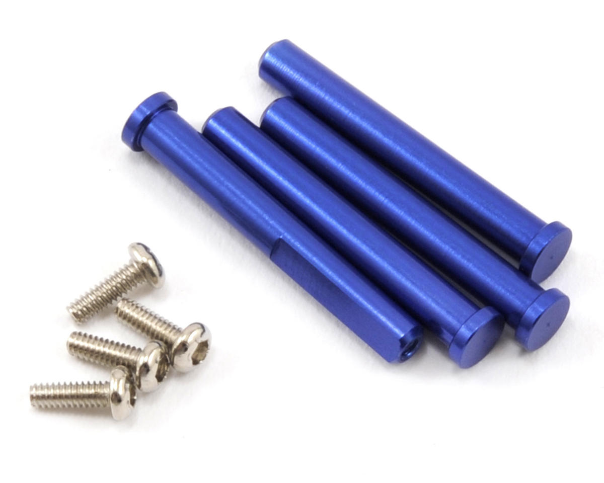 Traxxas LaTrax Alias Main Shaft & Screw Set (Blue)