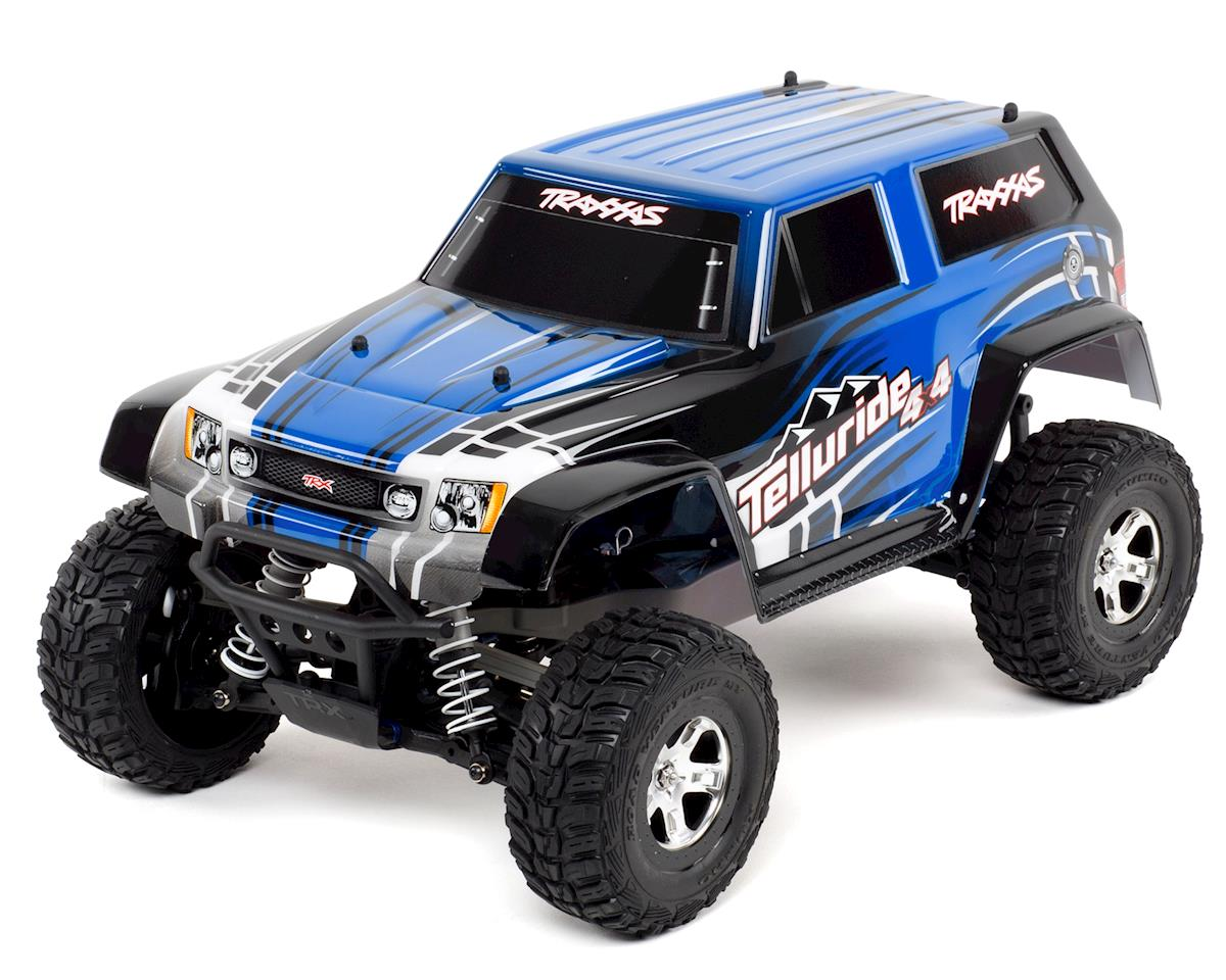 Traxxas Telluride 4x4 4WD RTR Monster Truck (Blue)