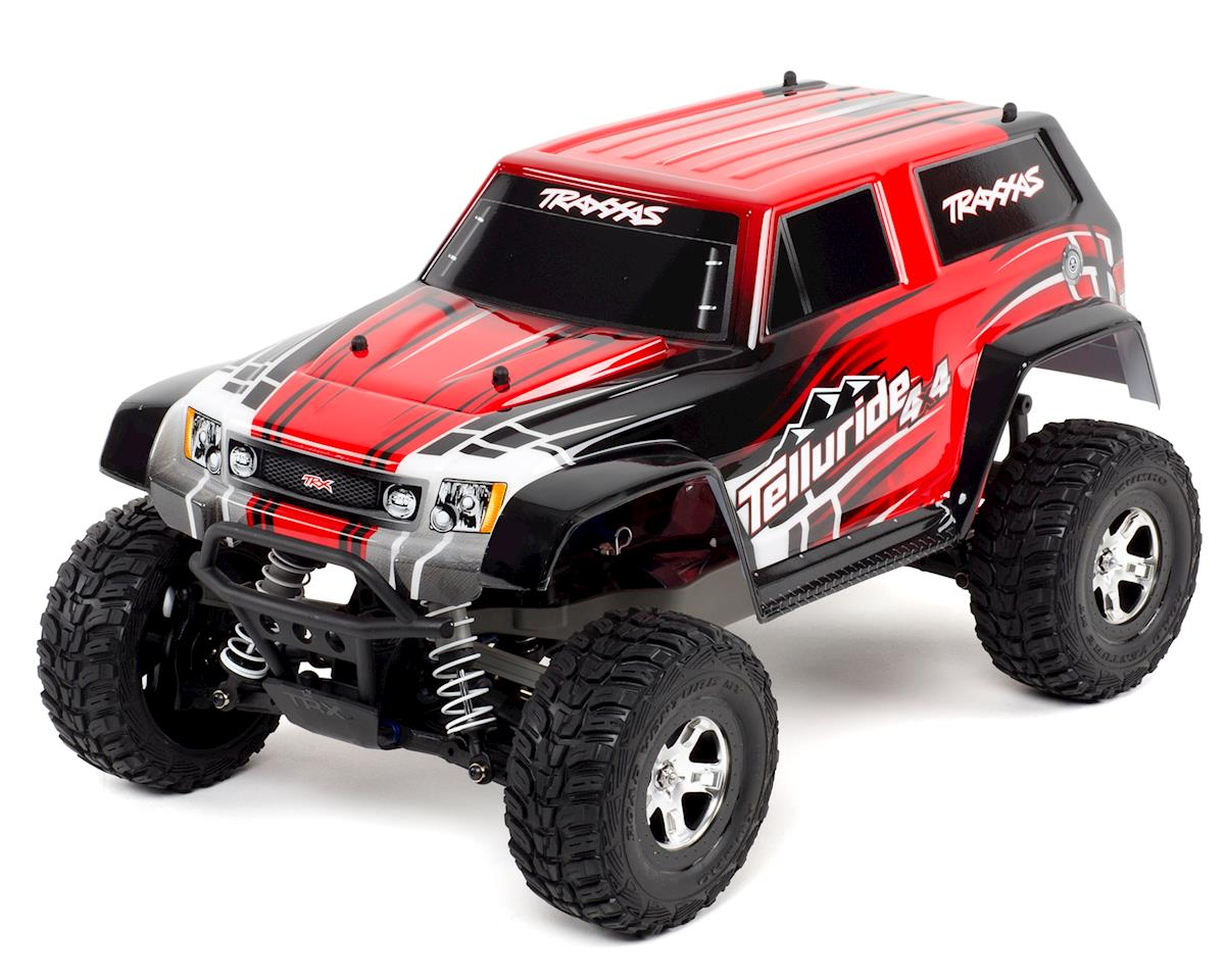 Traxxas Telluride 4x4 4WD RTR Monster Truck (Red)
