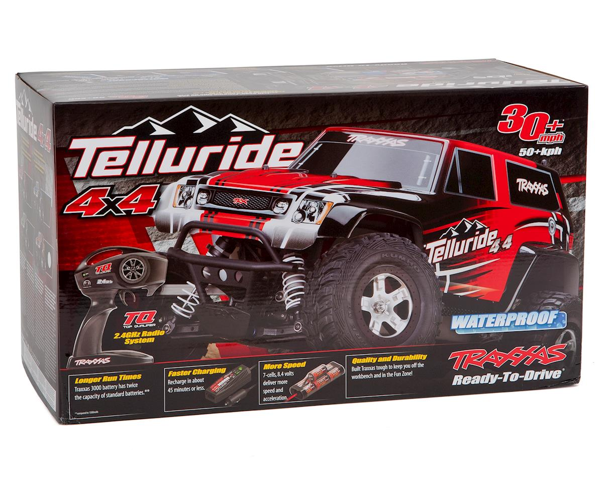 Traxxas Telluride 4x4 4WD RTR Monster Truck