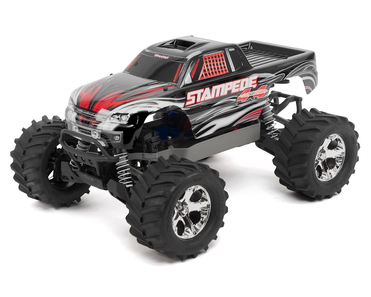 Traxxas Stampede 4X4 LCG 1/10 RTR Monster Truck (Black)