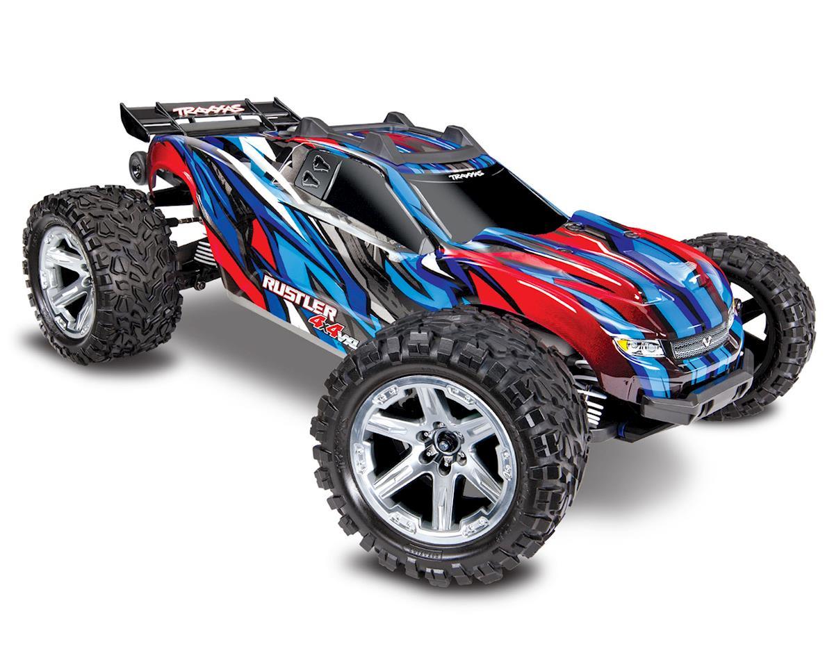 Traxxas Rustler VXL TRX67076-4-BLUE
