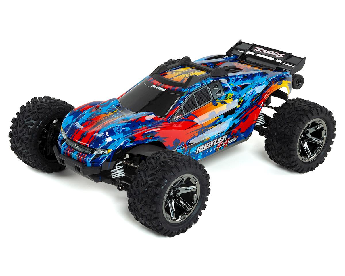 Rustler 4X4 VXL Brushless RTR 1/10 4WD Stadium Truck (Red) by Traxxas