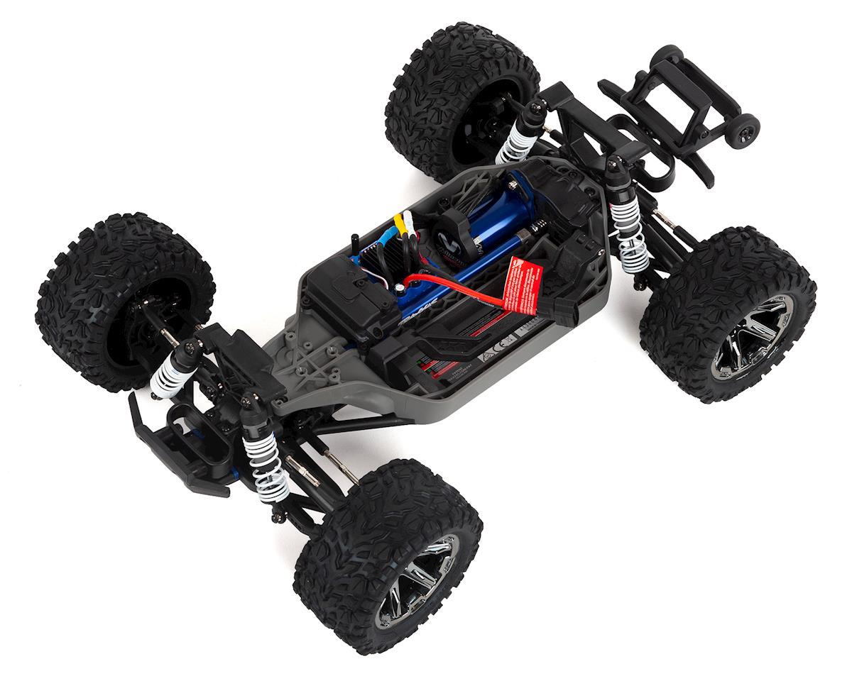 Image 2 for Traxxas Rustler 4X4 VXL Brushless RTR 1/10 4WD Stadium Truck (Red)