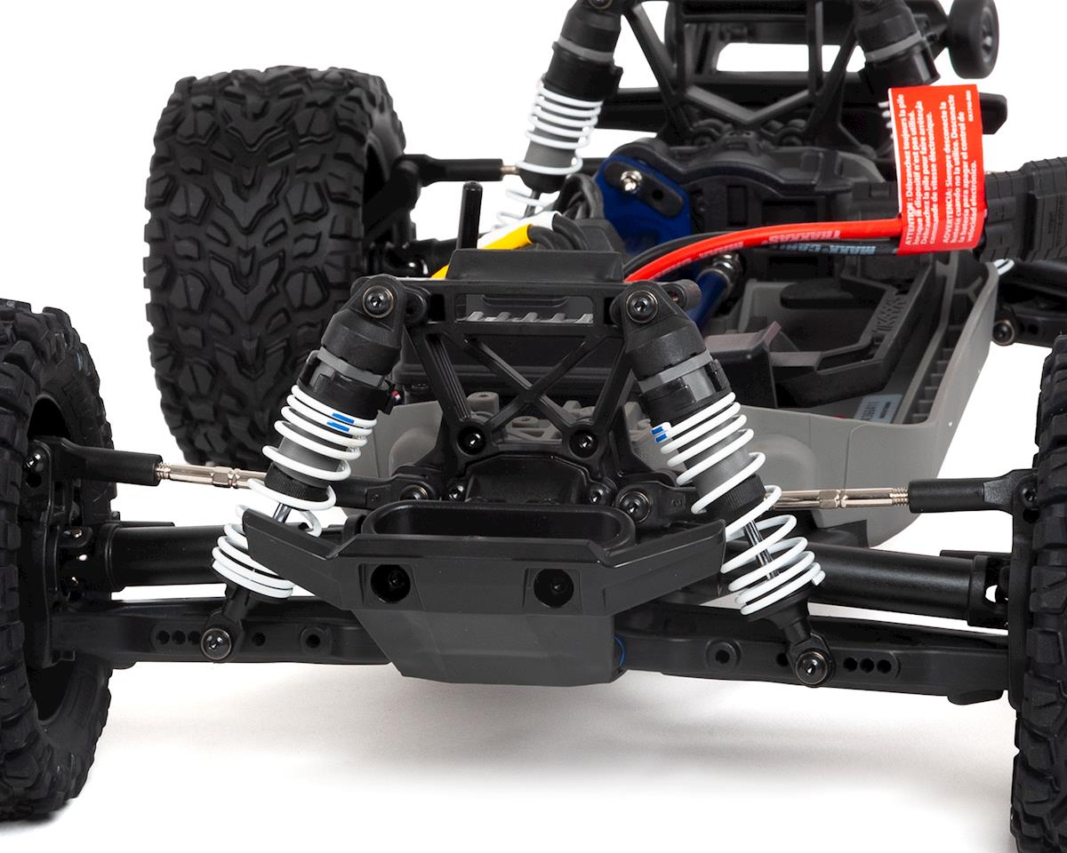 Image 3 for Traxxas Rustler 4X4 VXL Brushless RTR 1/10 4WD Stadium Truck (Red)