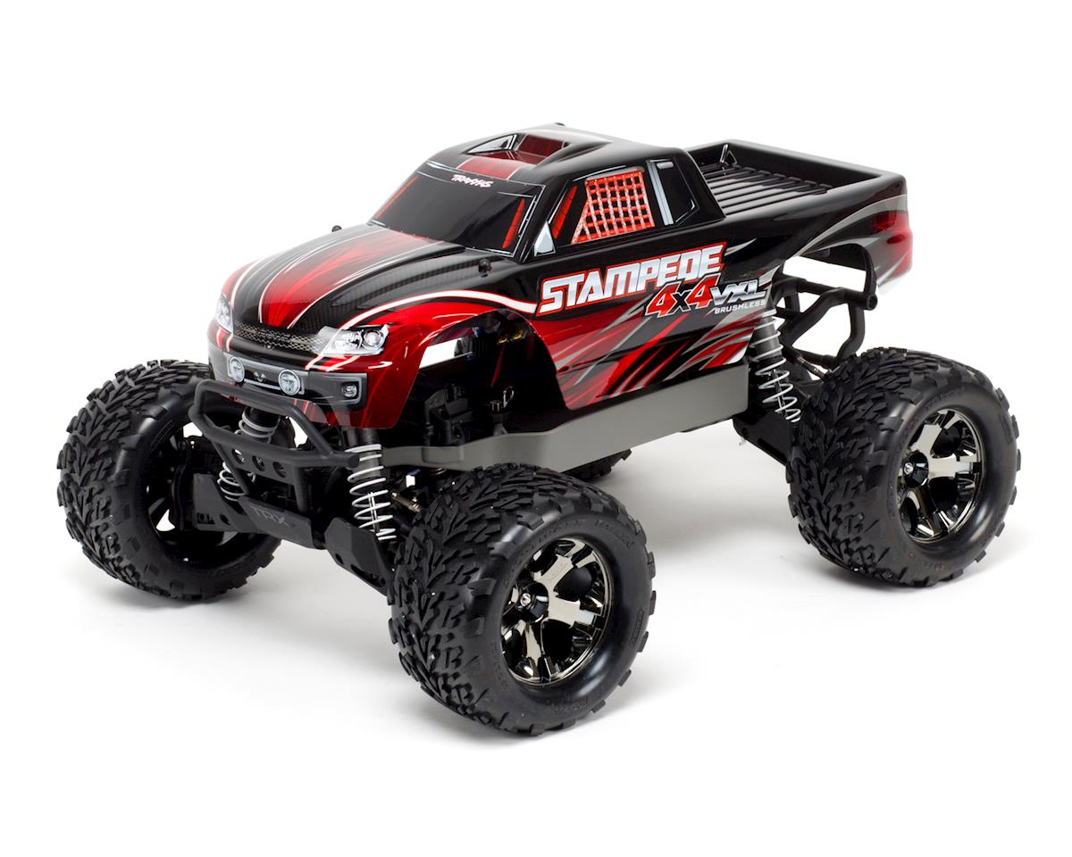 Traxxas Stampede 4X4 VXL Brushless 1/10 4WD RTR Monster Truck