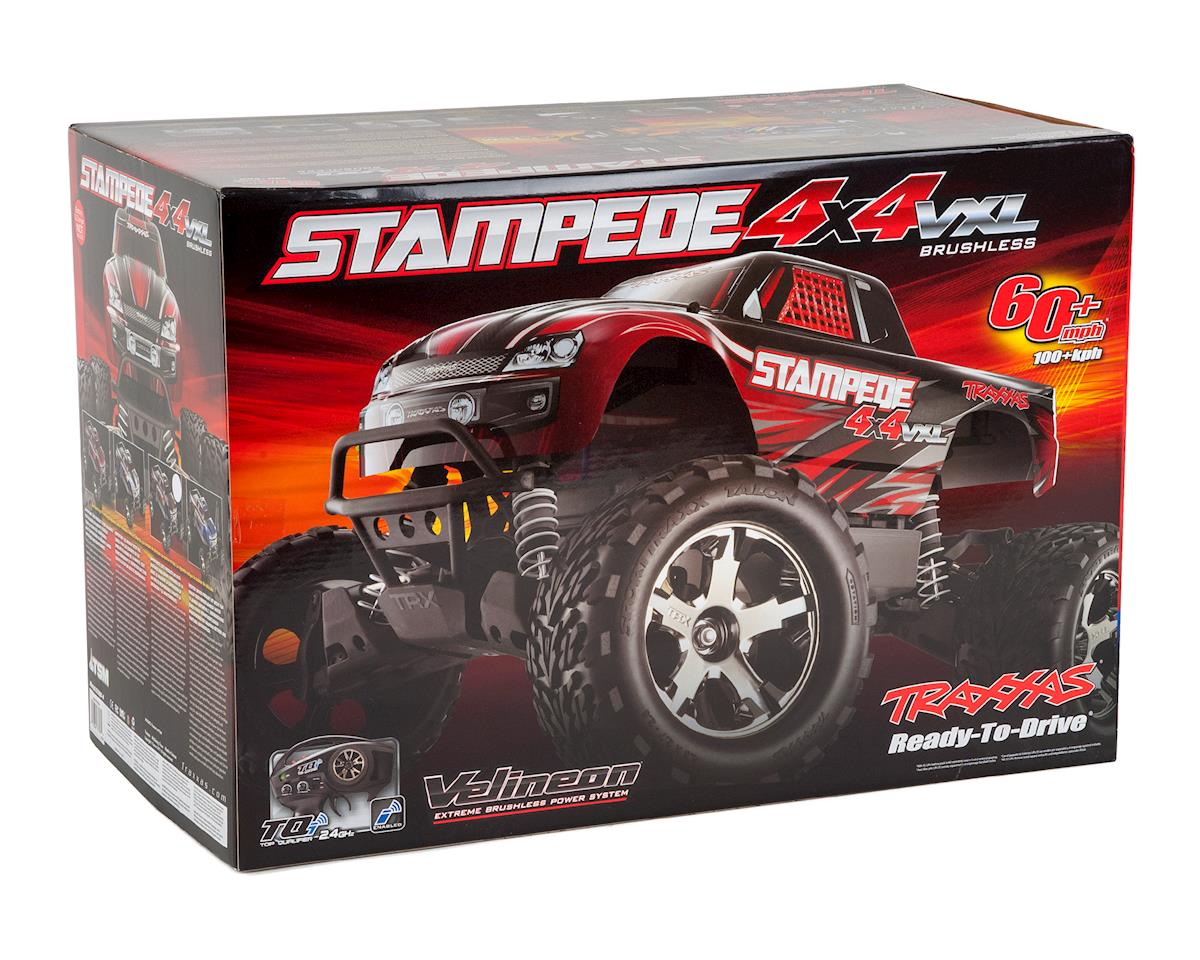 Traxxas Stampede 4X4 VXL Brushless 1/10 4WD RTR Monster Truck (Blue)