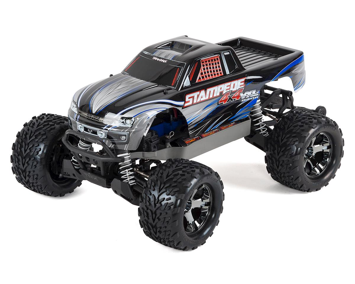 Stampede 4X4 VXL Brushless 1/10 4WD RTR Monster Truck (Silver) by Traxxas