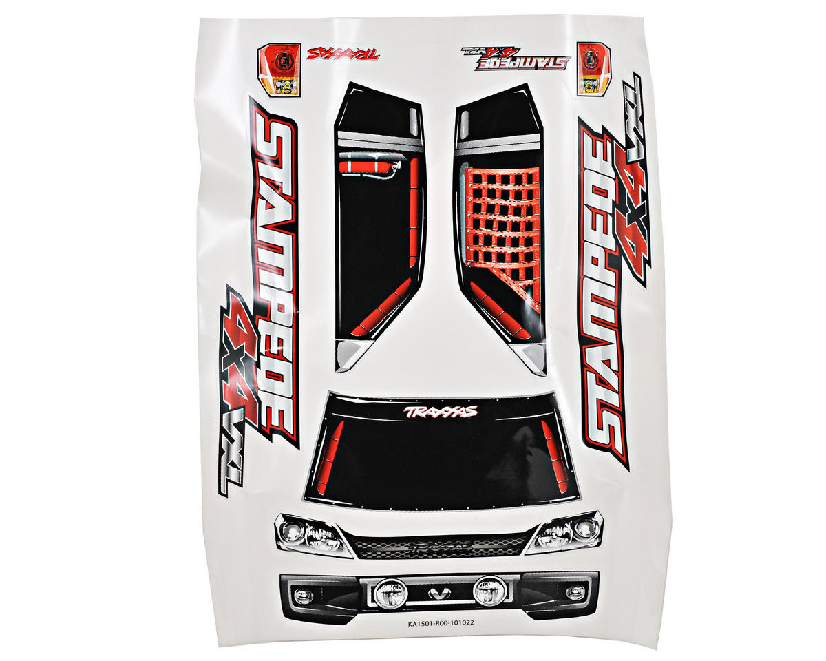 ProGraphix Stampede 4X4 Body w/Decal Sheet by Traxxas