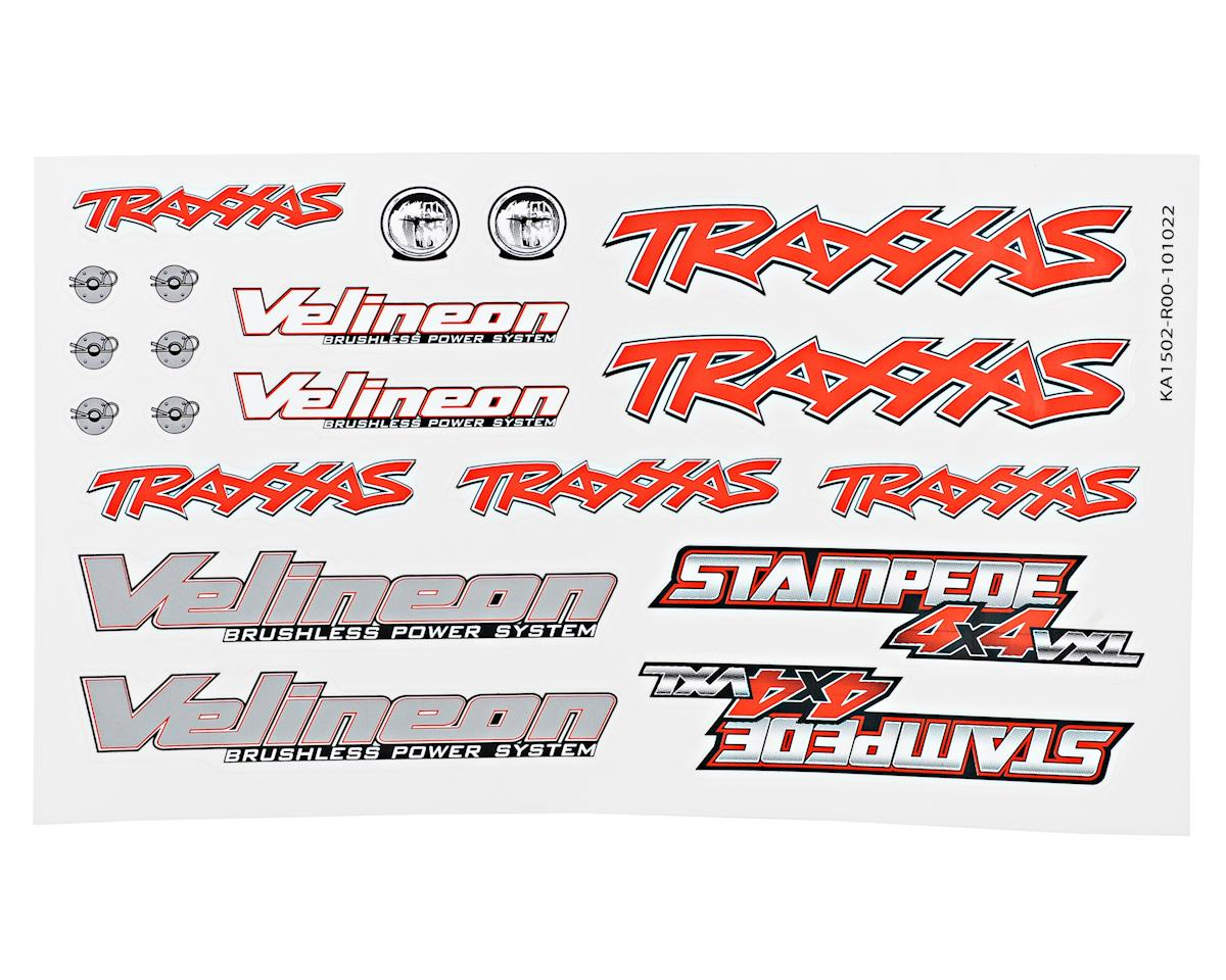 Traxxas Stampede 4X4 VXL Decal Sheet