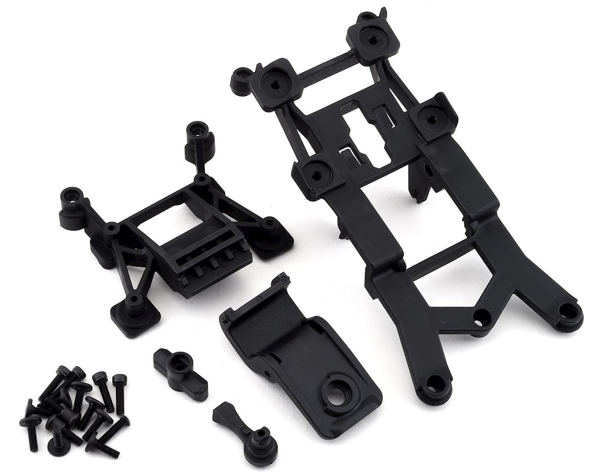 Traxxas Rustler 4X4 Front & Rear Body Mounts