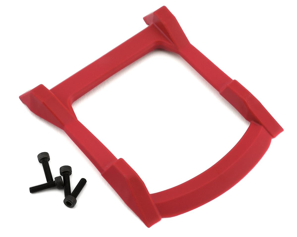 Traxxas Rustler 4X4 Roof Skid Plate (Red)