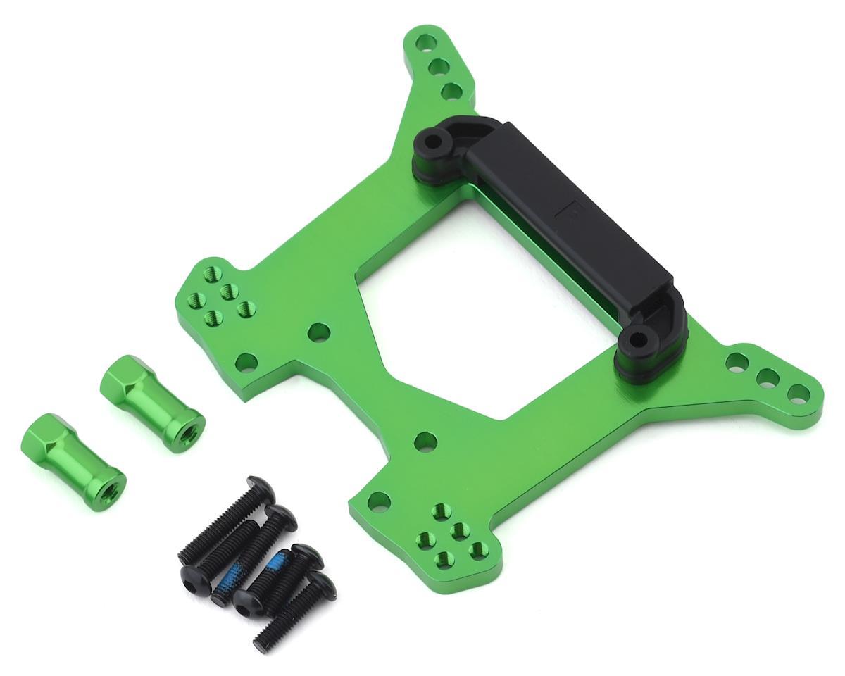 Traxxas Aluminum Rustler 4X4 Rear Shock Tower (Green)