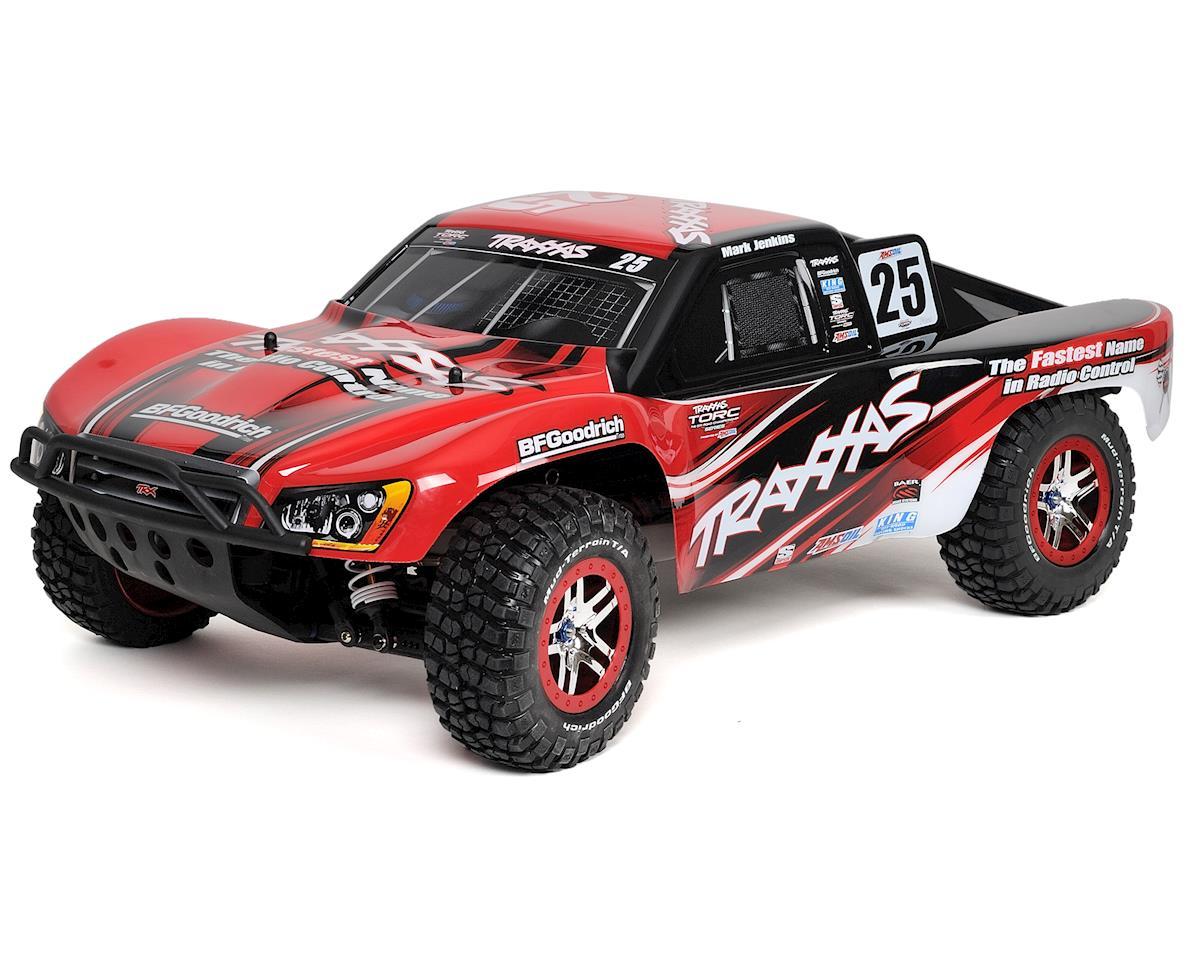 "Traxxas Slash 4X4 ""Ultimate"" Brushless 1/10 Scale 4WD Short Course Truck (w/TQi"