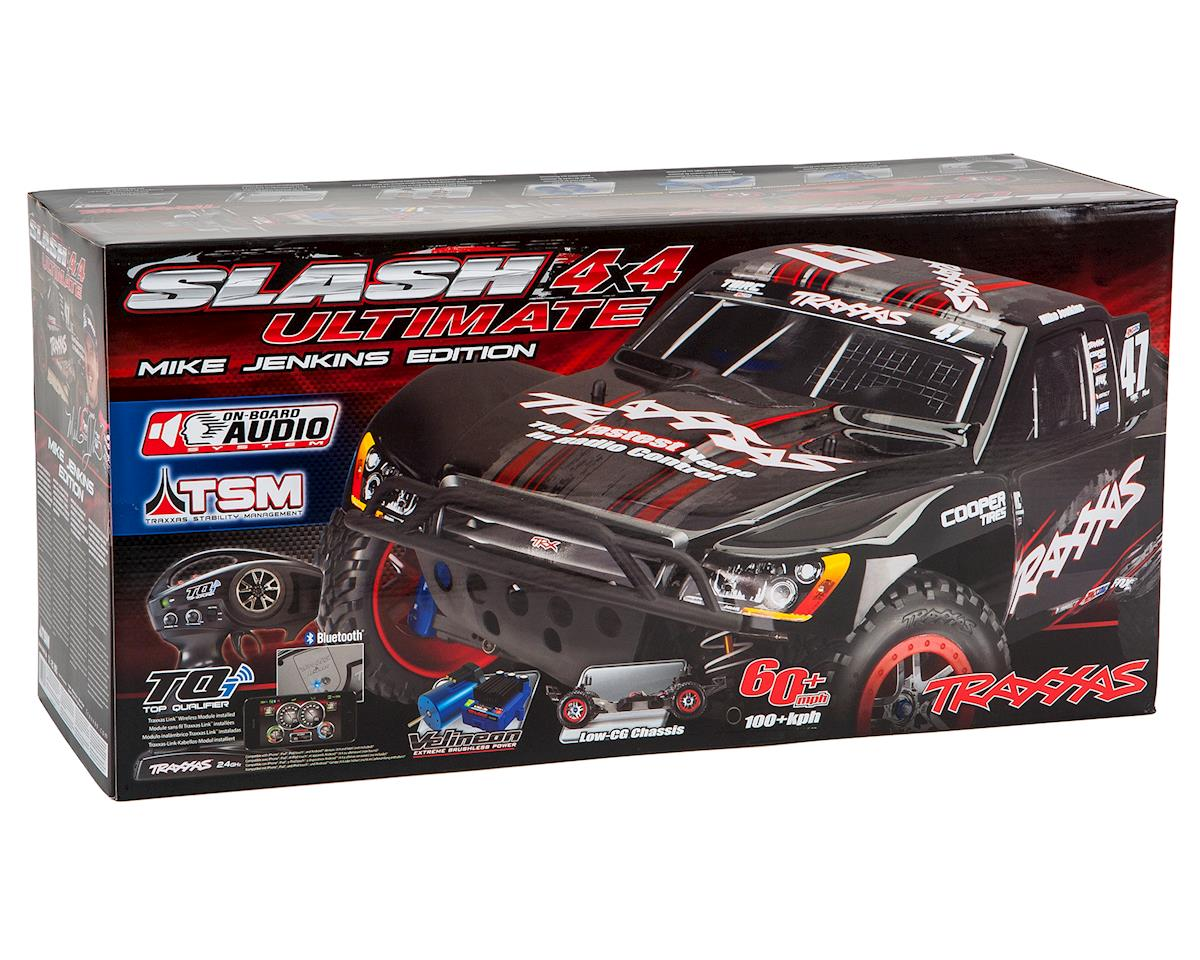 "Traxxas Slash 4X4 ""Ultimate"" RTR 4WD Short Course Truck (Blue)"