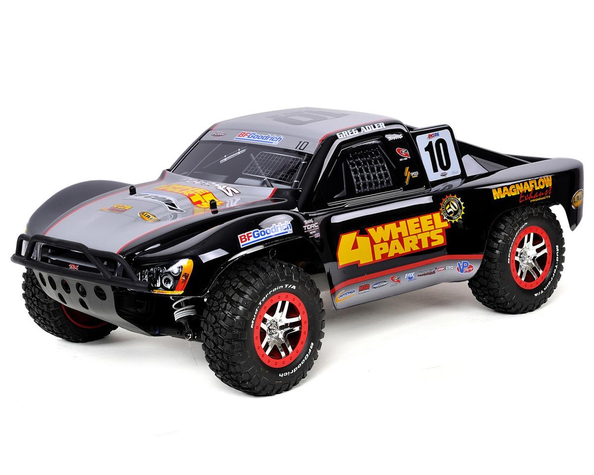 "Traxxas Slash 4X4 LCG ""Ultimate"" 1/10 4WD Short Course Truck w/TQi 2.4GHz, NiMH"