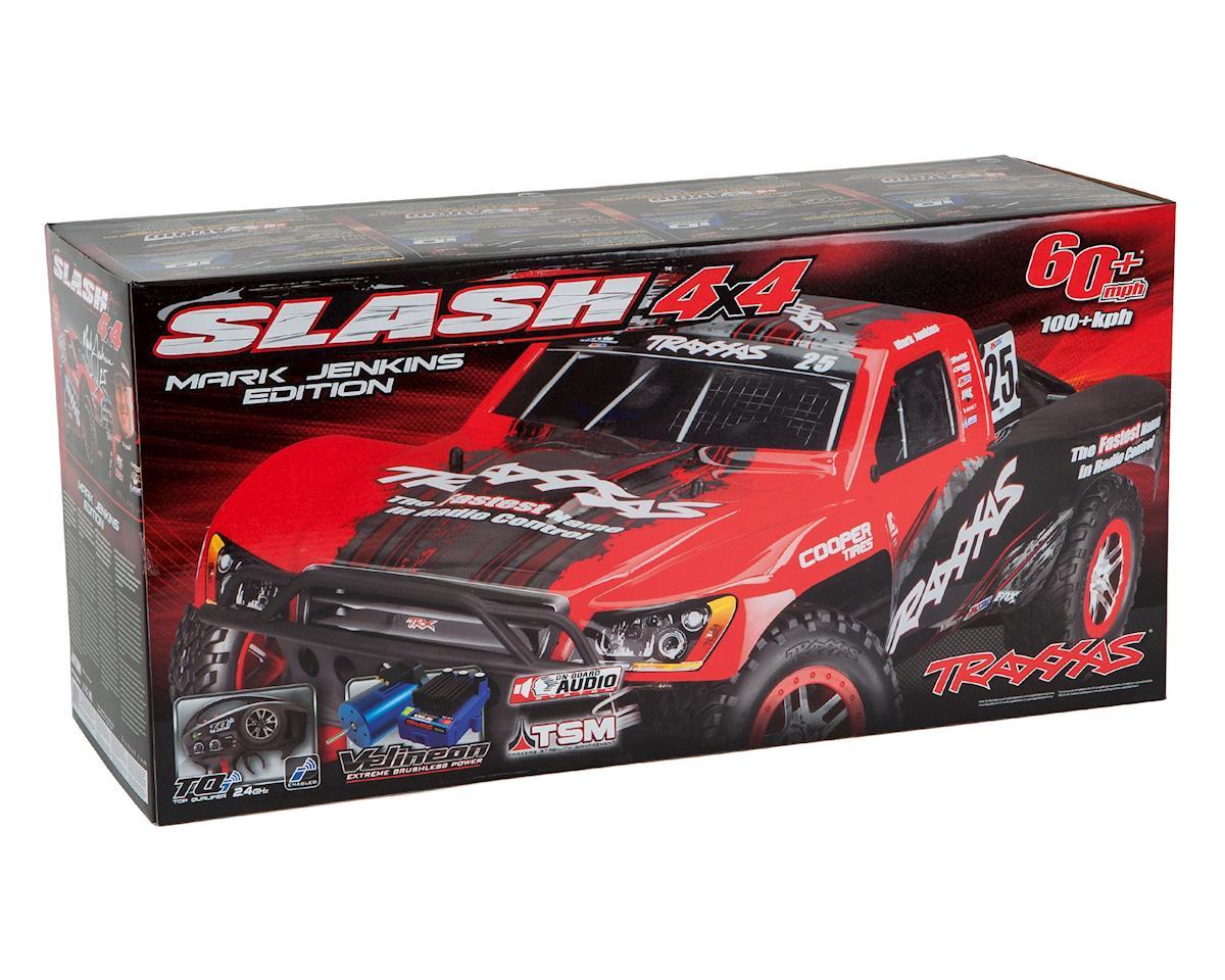 Traxxas Slash 4X4 Brushless 1/10 RTR Short Course Truck (Blue)