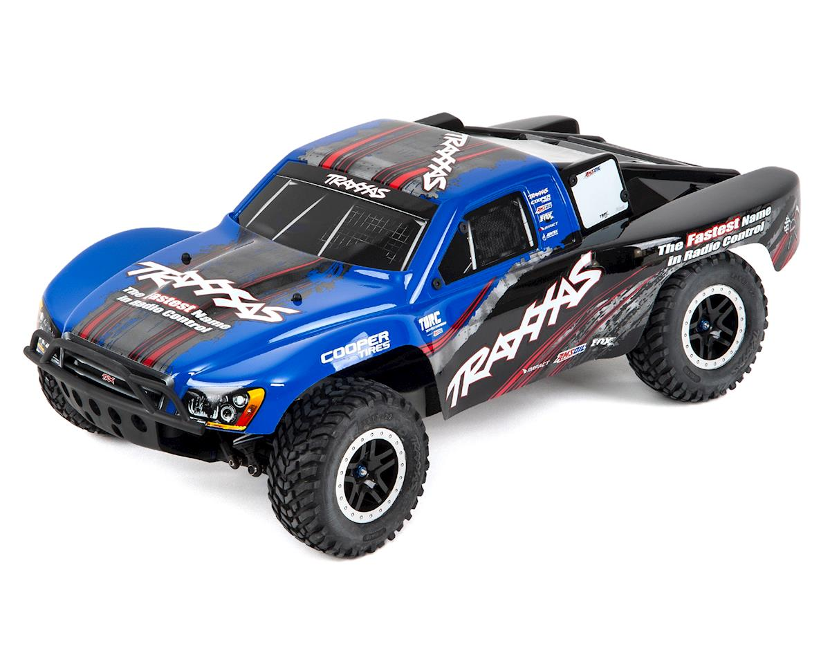 Traxxas Slash 4X4 VXL Brushless 1/10 4WD RTR Short Course Truck (Blue)