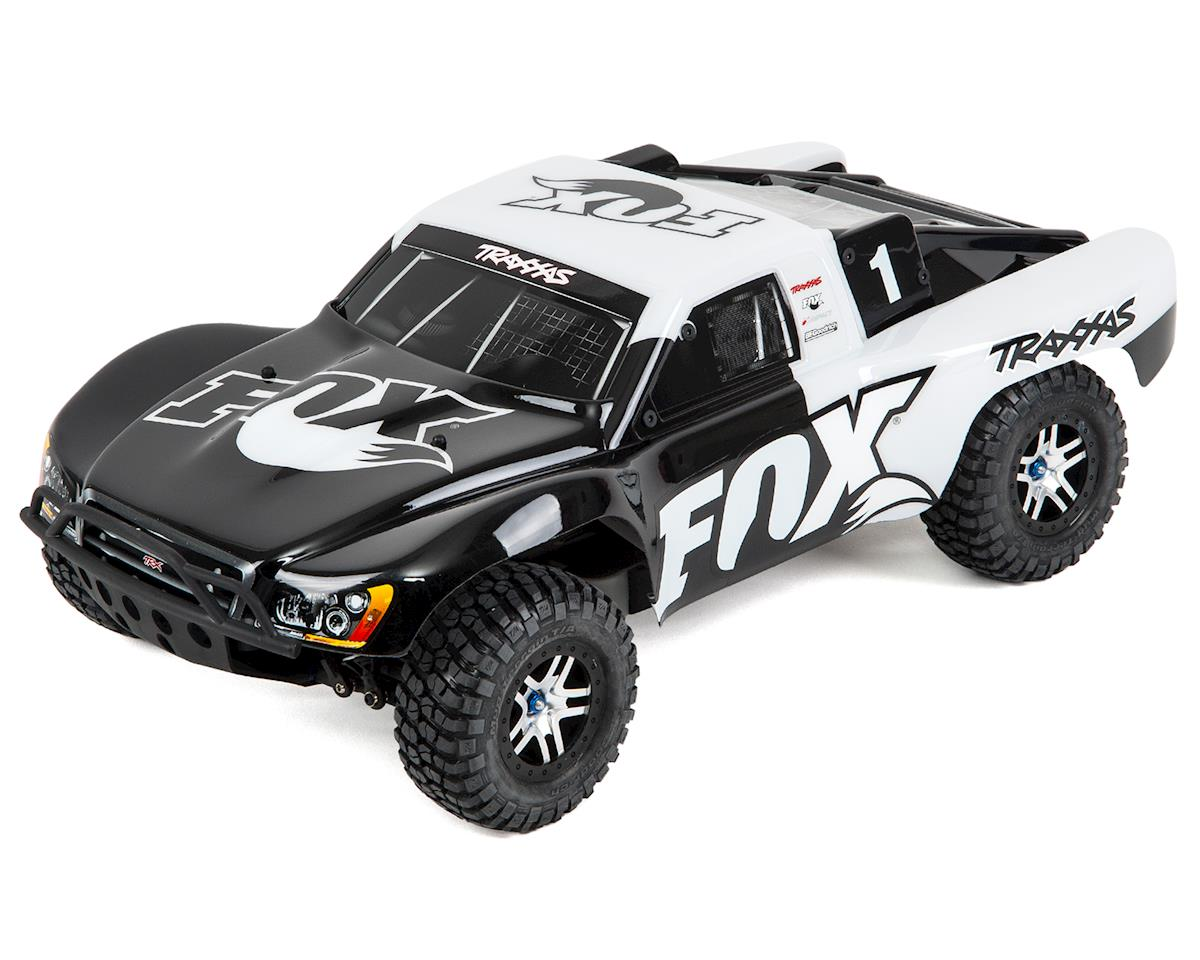 Slash 4X4 VXL Brushless 1/10 4WD RTR Short Course Truck (Fox) by Traxxas