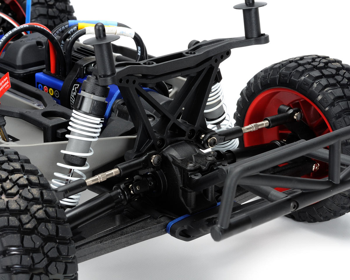 Traxxas Slash 4X4 Brushless 1/10 Scale Electric 4WD Short Course Truck  (w/TQi 2