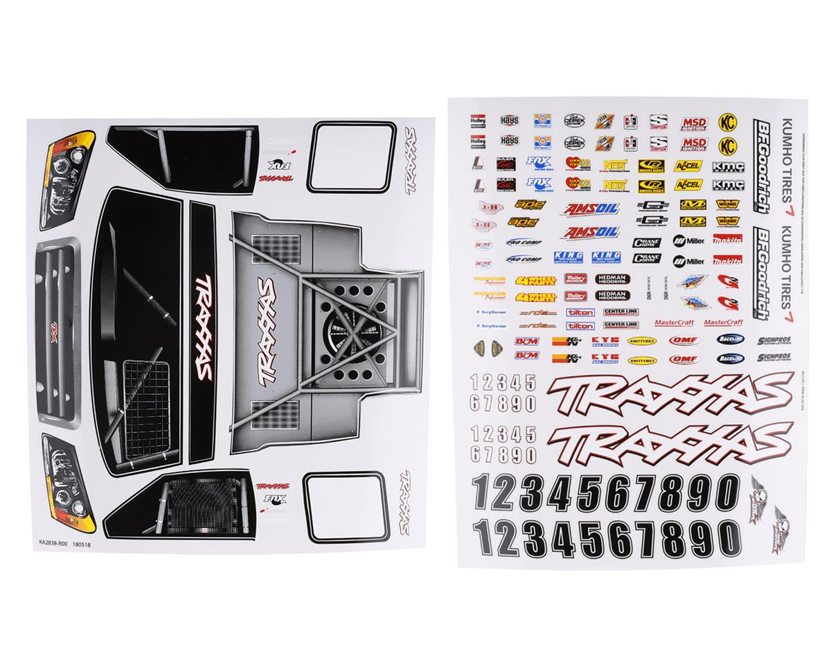 Traxxas Slash 4X4 Decal Sheet Set