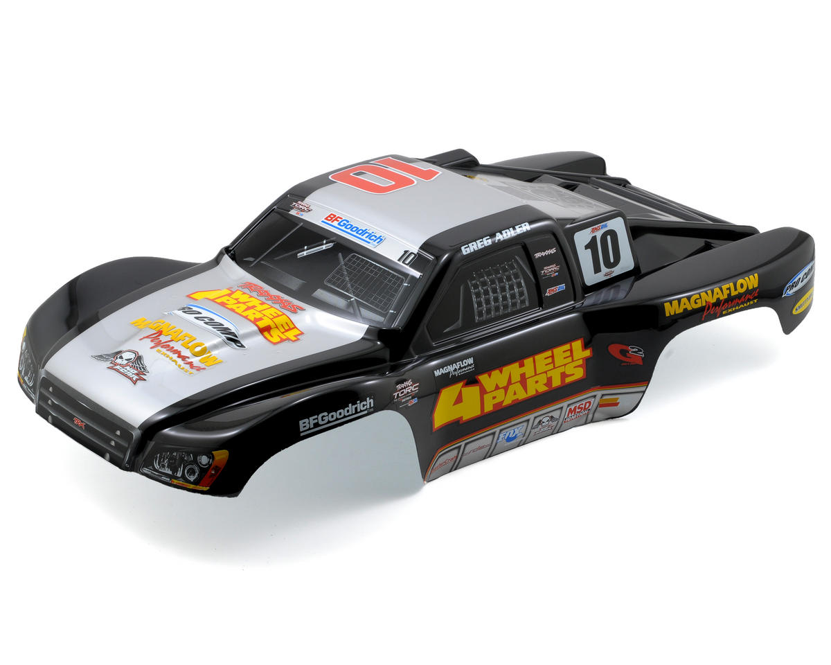 "Traxxas Greg Adler ""4WD Parts"" Body (Slash/Slayer)"