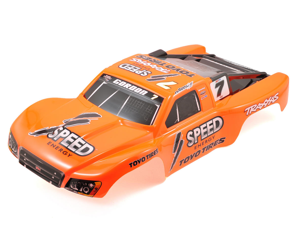 Traxxas #7 Robby Gordon Painted Body (Slash 4x4)