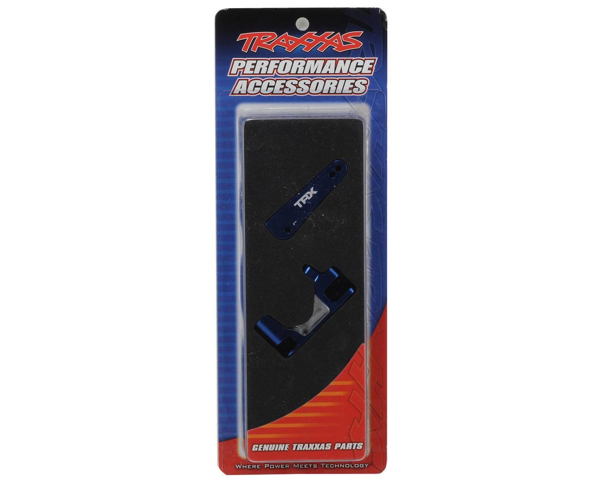Traxxas Aluminum Caster Block Set (2) (Blue)