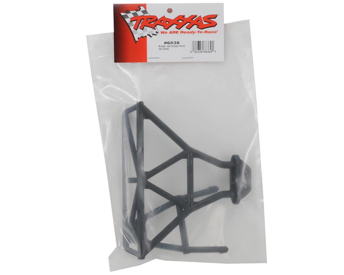 Traxxas Rear Bumper & Mount (Black)