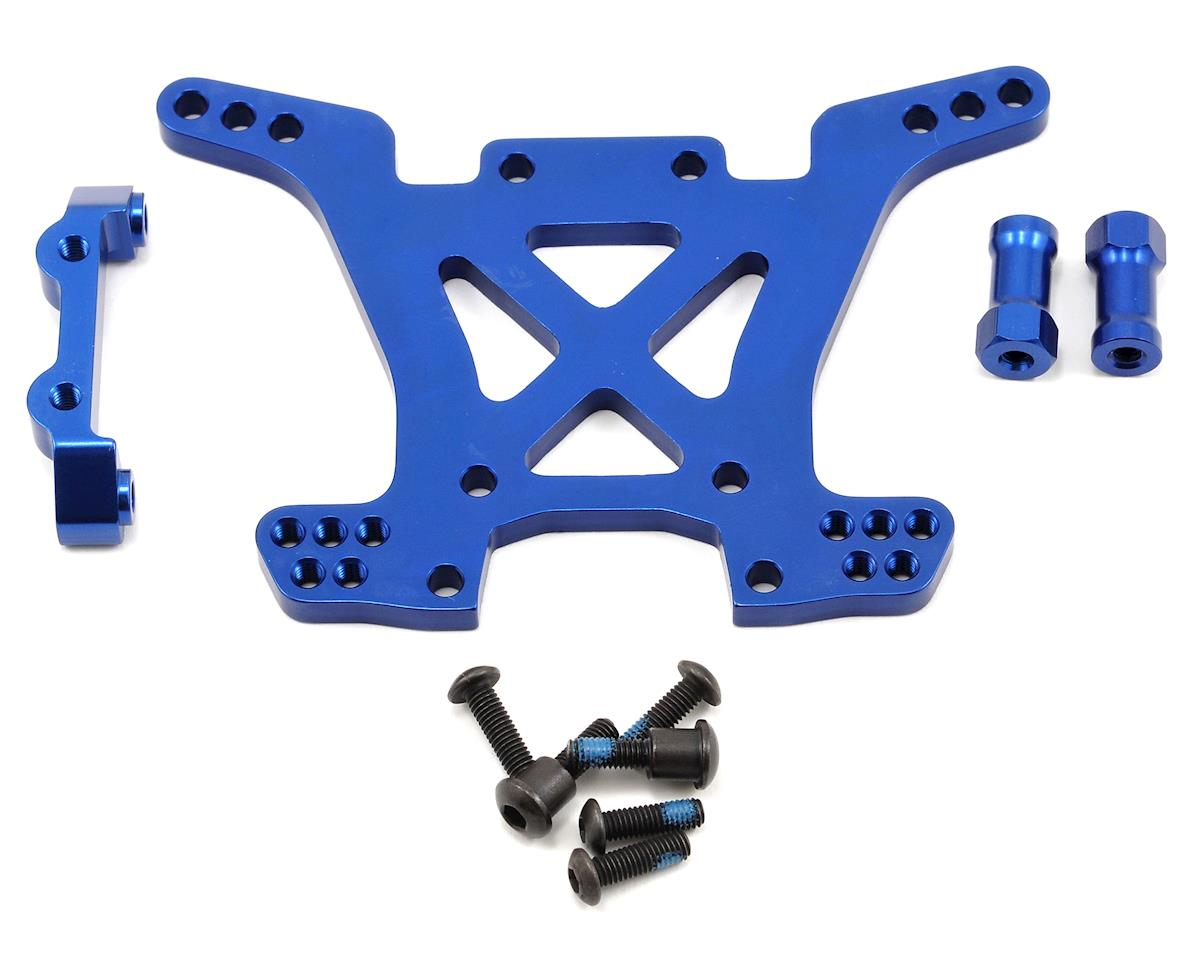 Traxxas Aluminum Rear Shock Tower (Blue)