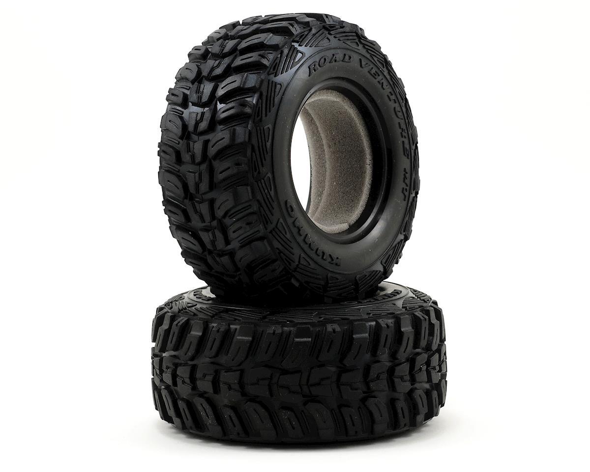 2.2/3.0 Kumho Venture MT Tire w/Foam (2) (Standard) by Traxxas
