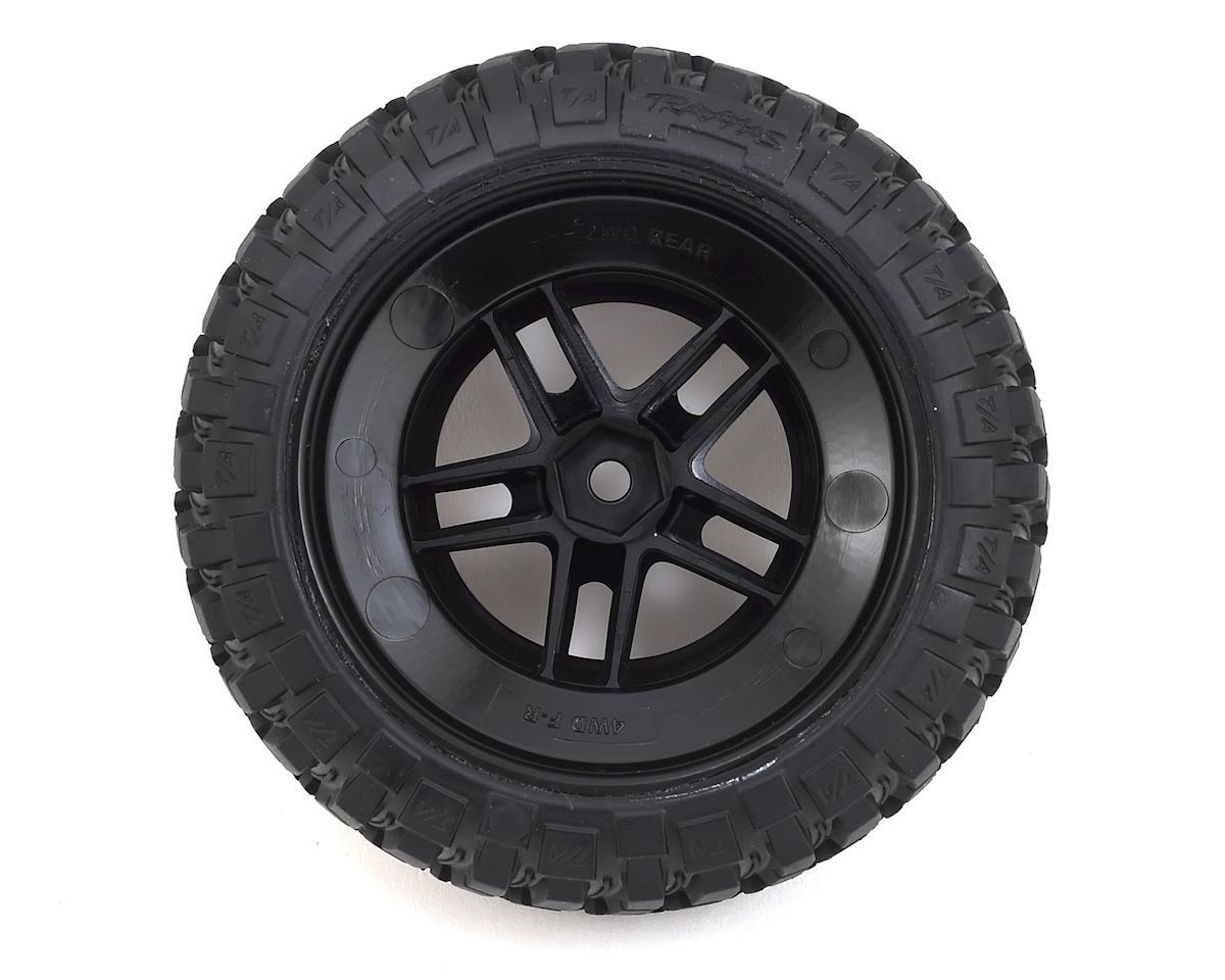 BFGoodrich Mud TA Rear Tires (2) (Satin Chrome) (Standard) by Traxxas