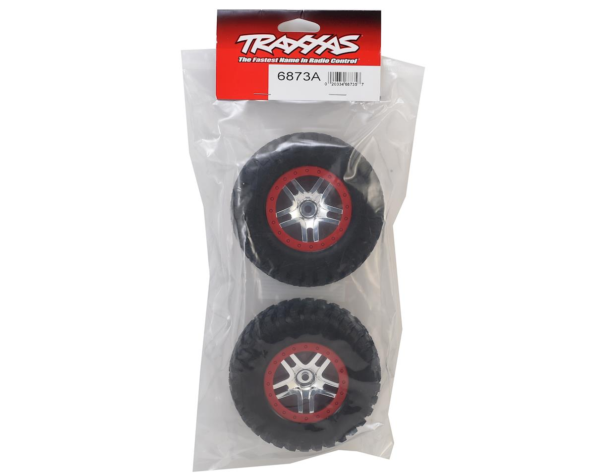 Traxxas BFGoodrich Mud TA Rear Tires (2) (Satin Chrome) (Standard)