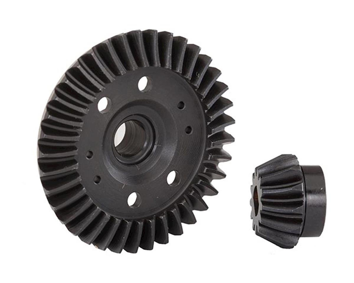Traxxas 4-Tec 2.0 Rear Machined Ring & Pinion Gear (Spiral Cut)