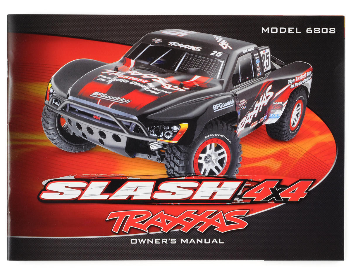 Traxxas Slash 4x4 Owners Manual [TRA6899] | Cars & Trucks