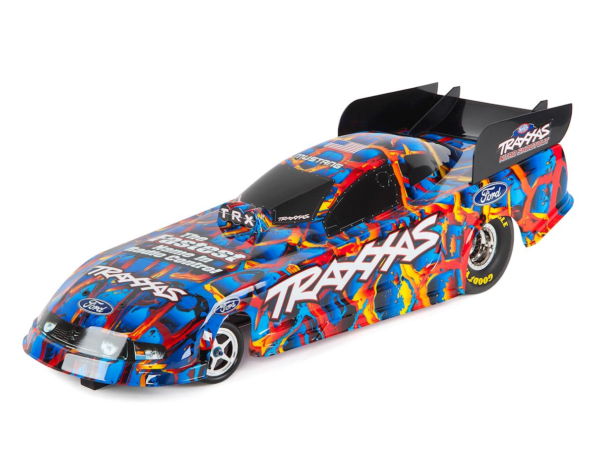 "Traxxas Ford Mustang NHRA 1/8 ""Special Edition"" Electric RTR Funny Car (Blue)"