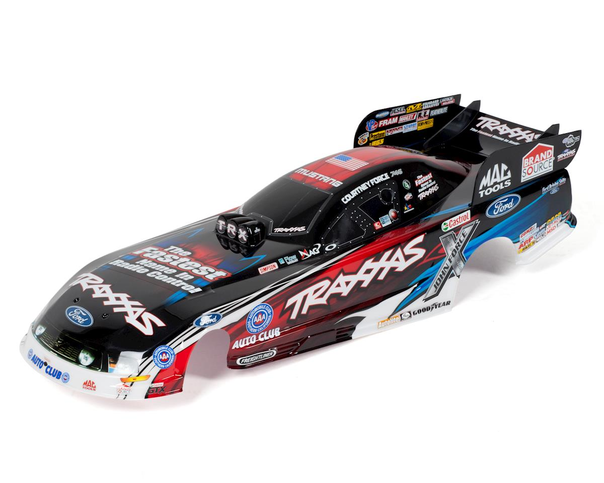Courtney Force Ford Mustang Painted Body by Traxxas