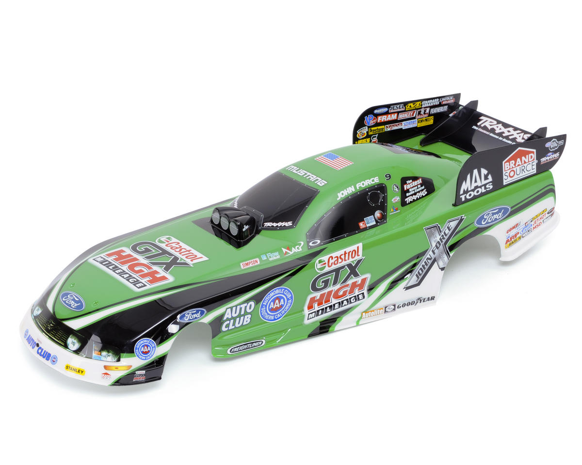 Traxxas John Force Ford Mustang Painted Body
