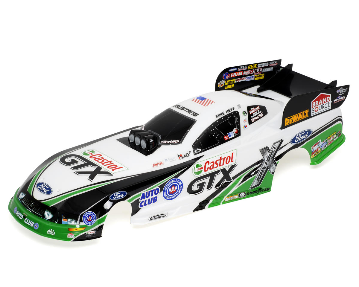 Traxxas Mike Neff Ford Mustang Painted Body