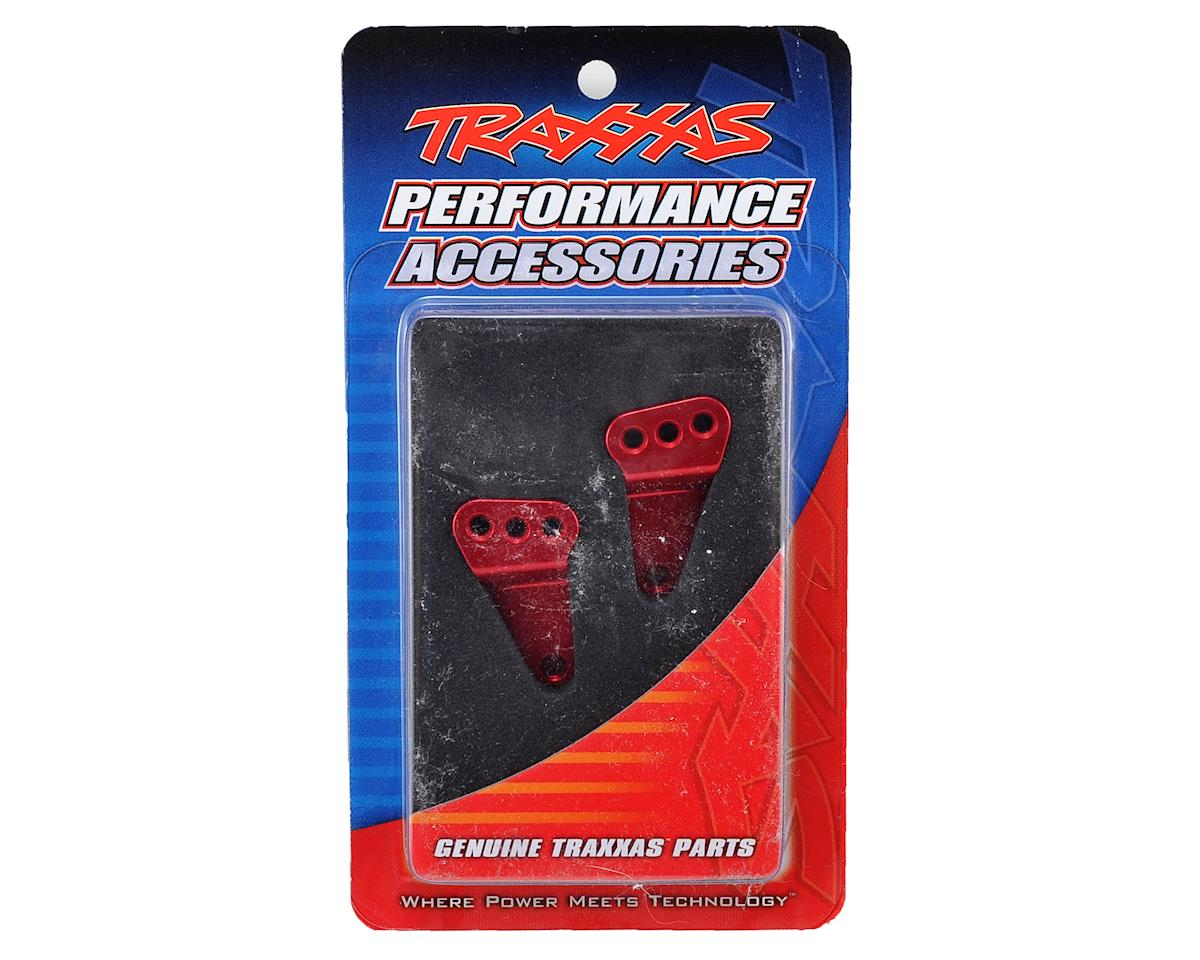 Traxxas Aluminum Rear Suspension Link Mount Set (Red)