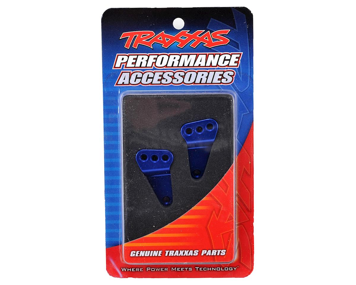 Aluminum Rear Suspension Link Mount Set (Blue) by Traxxas