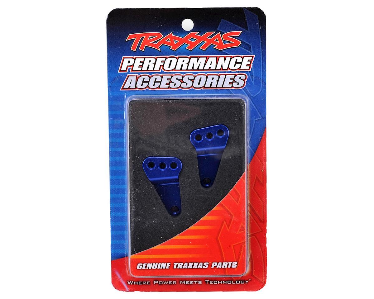 Traxxas Aluminum Rear Suspension Link Mount Set (Blue)