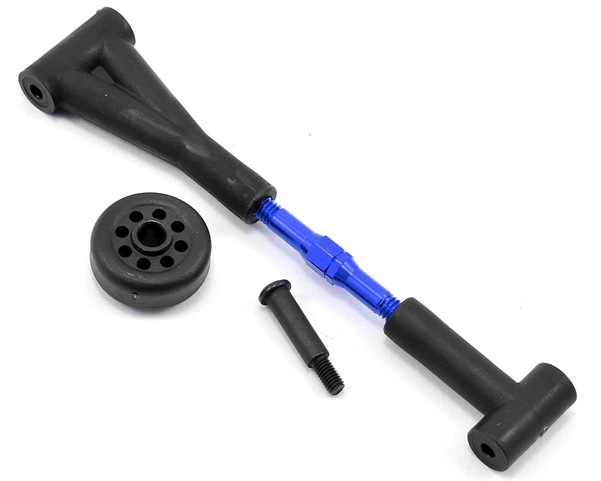 Traxxas Aluminum Wheelie Bar Link (Blue)