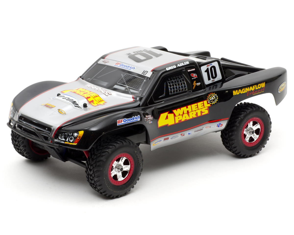Traxxas 1/16 Slash 4x4 4WD RTR Short Course Truck w/Titan 550, Battery & Wall Charger