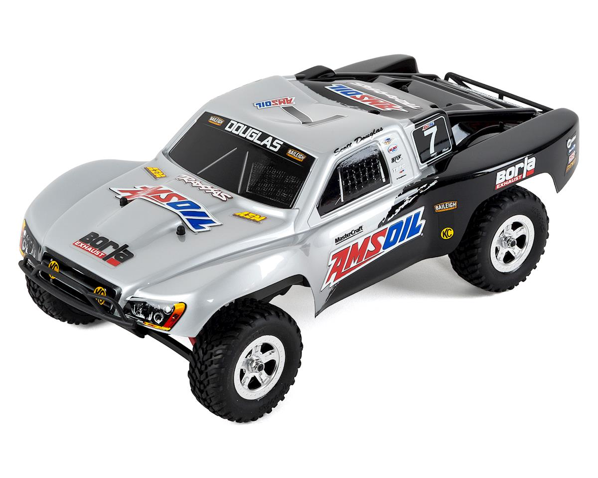Traxxas Slash 4x4 1/16 4WD RTR Short Course Truck (Scott Douglas) w/TQ  2 4GHz Radio, Battery & DC Charger