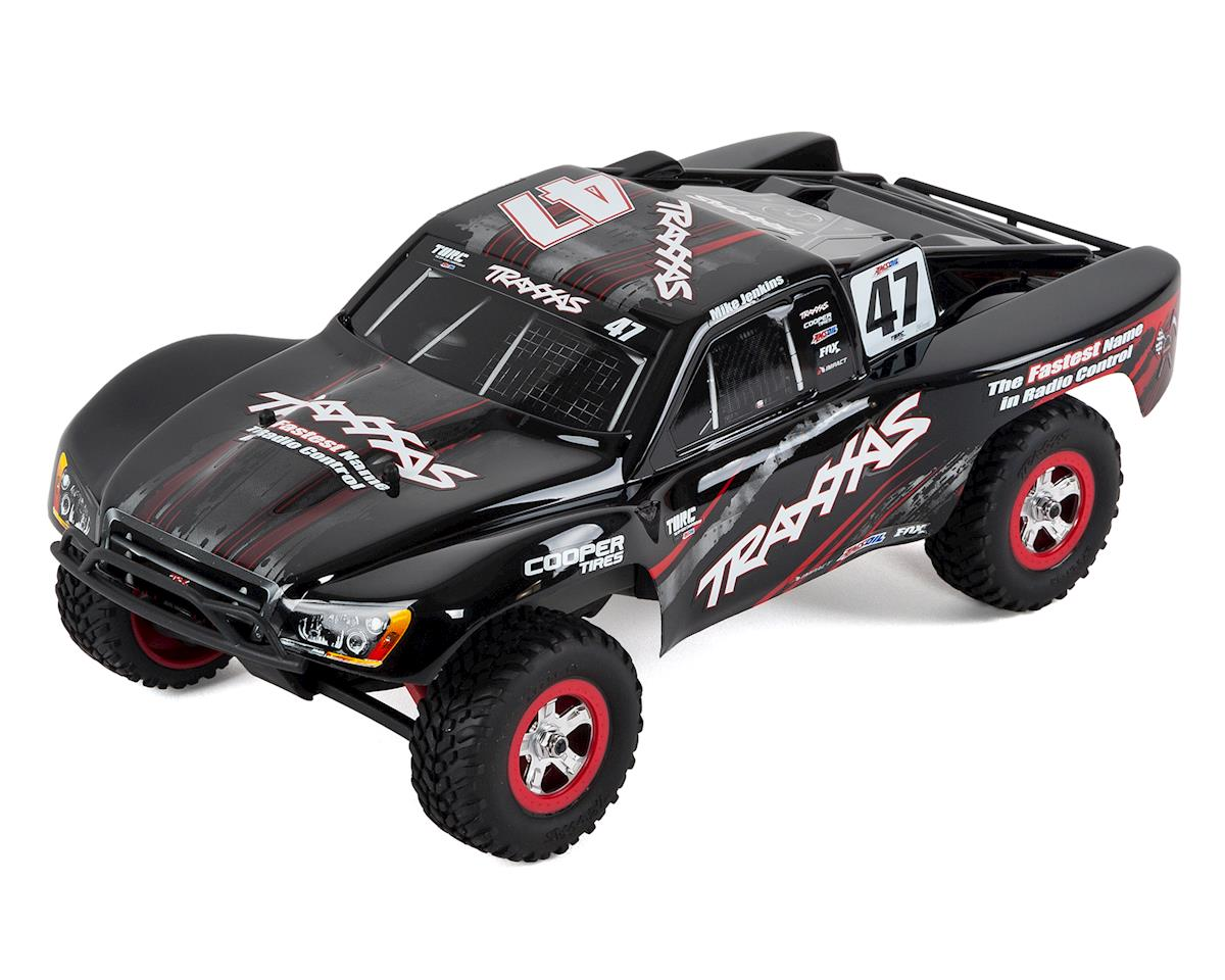 Traxxas Slash 4x4 1 16 4wd Rtr Short Course Truck Mike Jenkins Tra70054 1 Mike Cars Trucks Hobbytown